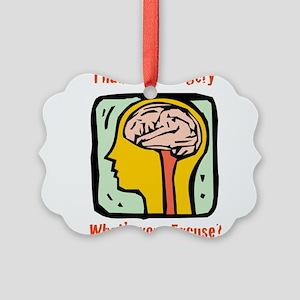 Brain-3-[Converted]b Picture Ornament